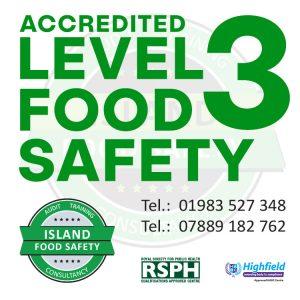 isle-of-wight-supervising-food-safety-training-level-3-island-food-safety-september-2017
