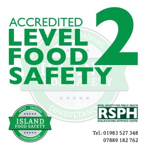 accredited-level-2-food-safety-hygiene-catering-isle-of-wight-island-food-safety-6-july-2018